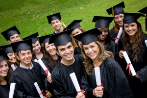 students graduating and ready for college