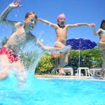 SWIMMING POOL ACCIDENTS AND NEAR-DROWNING