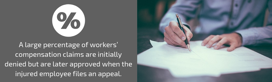 filing a denied worker's comp claim