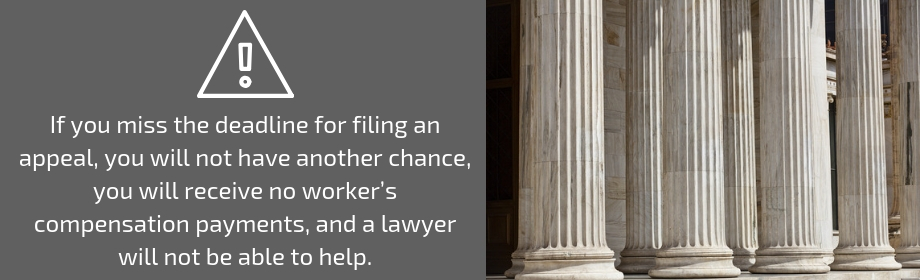 pursue a worker's comp appeal